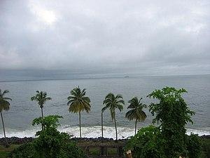Monrovia - Monrovia Bay.