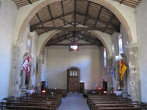 Montalcino, Interiore della chiesa Sant'Egidio