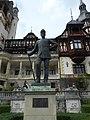 Monumento a Carol I re di Romania, Castello di Peleș, Sinaia, Romania.jpg