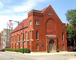 Moorish Science Temple of America - Temple No 9, in Chicago, Illinois