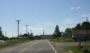 Moquah, Wisconsin - Downtown Moquah