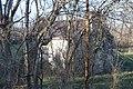 Mordecai Chalfant House through the trees.jpg