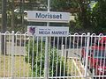Morisset Railway station sign.jpg