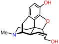 Morphine chemical structure in 3D.png