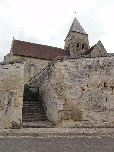 Mortefontaine (Aisne) église