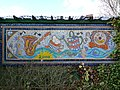 Mosaic near to the canal entrance of the Willowtree Marina - geograph.org.uk - 1186919.jpg