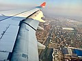 Moscow city from Delhi - Moscow airplane (October 2018) 2.jpg