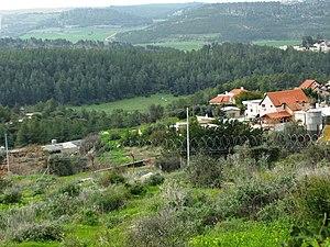 Aviezer - Image: Moshav Aviezer, Jewish village in Elah Valley