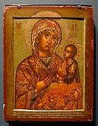 Mother of God of Georgia, 1700s, egg tempera on wood - Jordan Schnitzer Museum of Art, University of Oregon - Eugene, Oregon - DSC09260.jpg
