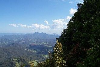 Mount Warning - Mount Warning and surrounds