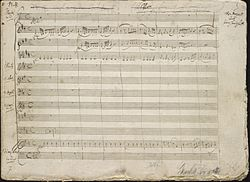 Image illustrative de l'article Concerto pour piano nº 26 de Mozart