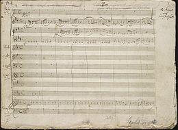 Mozart - Klavierkonzert Nr. 26 - Eröffnungsseite des Autograph Manuscript.jpg