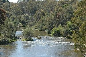 City of Manningham - Mullum Mullum Creek in Victoria, Australia