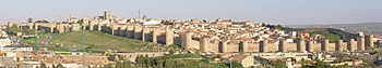 Ávila with its town walls