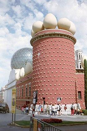 La théâtre-musée Dalí à Figueres