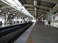 Musashi-Sakai Station platform right.jpg