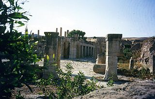 former Roman city in northern Tunisia, also known as Mest