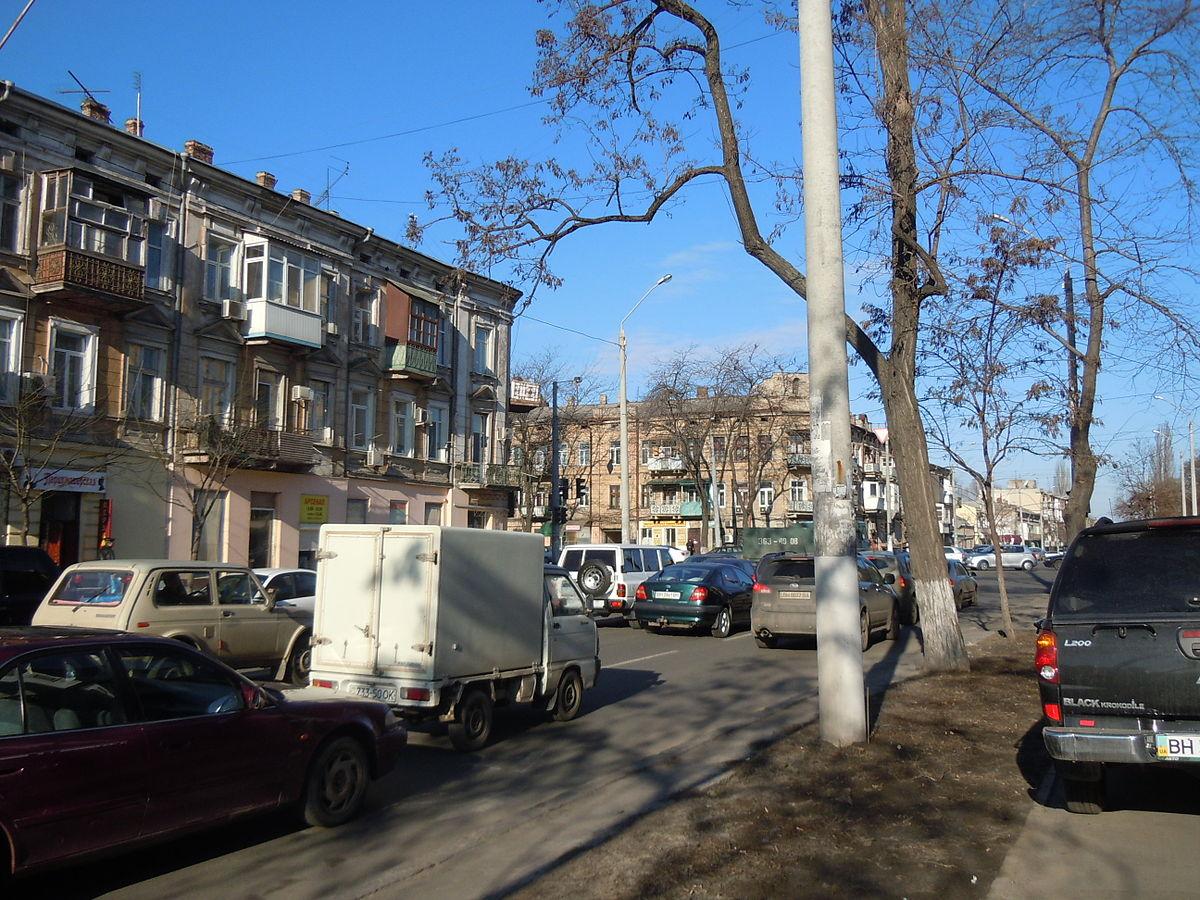 Молдаванка (район Одессы) — Википедия