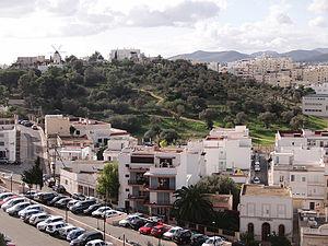 Necropolis of Puig des Molins - View of the Necropolis of Puig des Molins