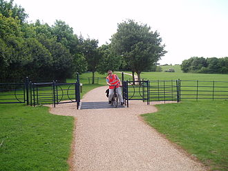 Linear park - Part of one of Milton Keynes's linear parks