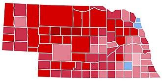1988 United States presidential election in Nebraska - Image: NE1988