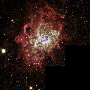 NGC 604 in Messier 33 (full mosaic, captured b...