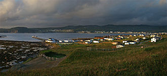 Rocky Harbour, Newfoundland and Labrador - Rocky Harbour at sunset
