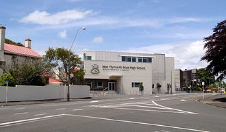 New Plymouth Boys' High School - View of New Plymouth Boys High School