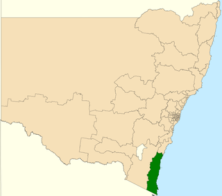 Electoral district of Bega state electoral district of New South Wales, Australia