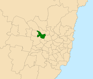 Electoral district of Seven Hills state electoral district of New South Wales, Australia