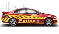 "NSW Police TSB-HWP Commodore SS ""Hi Viz"" concept - Flickr - Highway Patrol Images.jpg"