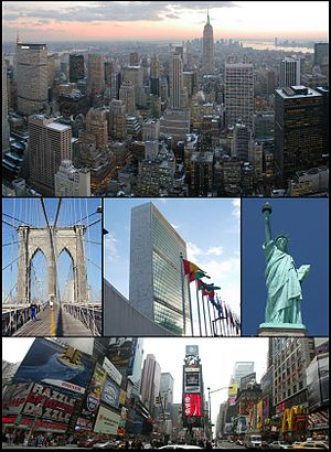 Montage of New Yor City images