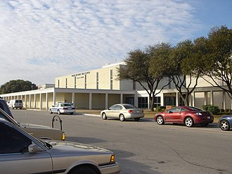North Mesquite High School - North Mesquite High School before renovation