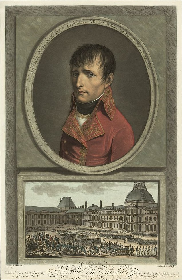 Napoleon by Louis Léopold Boilly
