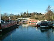 Narrowboats at braunston