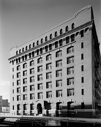 Thomas Rogers Kimball - The Nash Block, a 1905 design in Downtown Omaha.