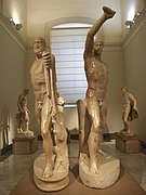 National Archaeological Museum of Naples - Tyrannicide group - Harmodius and Aristogeiton.jpg