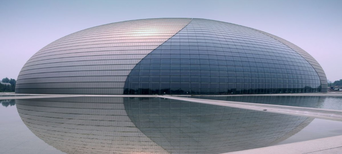 tower, structure, architect, design, modern, luxury, Beijing, Performing Arts, National Center