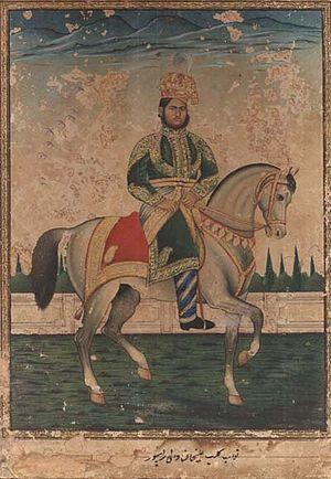 Rampur State - Nawab Kalb Ali Khan Bahadur of Rampur, r.1865-87