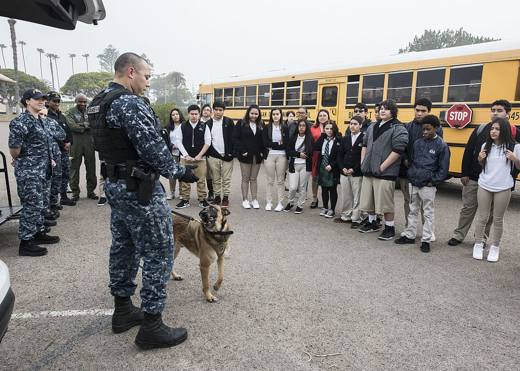 Filenaval Base Coronado Hosts E3 Civic High For Job Shadow Day