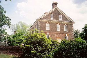 "Thomas ""Scotch Tom"" Nelson - Nelson's house in Yorktown"