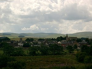 New Cumnock - Image: New Cumnock, Ayrshire geograph.org.uk 222539