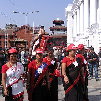 Nepal Sambat - Part of New Year's Day parade