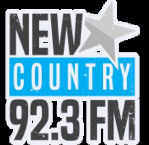 CFRK-FM - Image: Newcountry 923logo 2