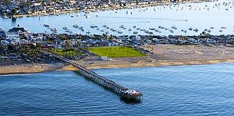Balboa Pier - Balboa Pier, Newport Beach: Feb 14 2015