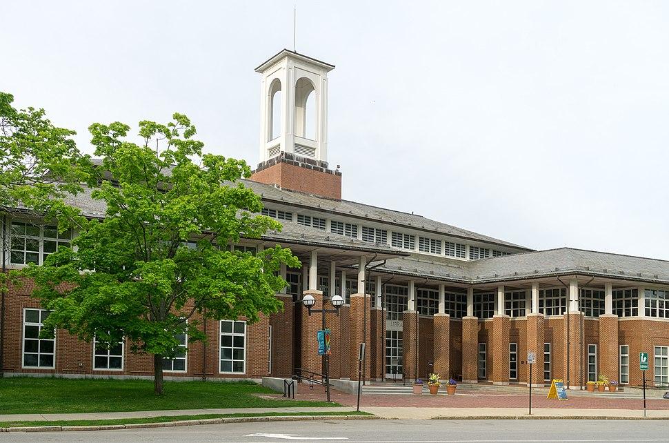 Newton Public Library, Massachusetts