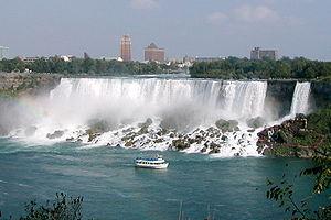 Американский водопад и водопад фата
