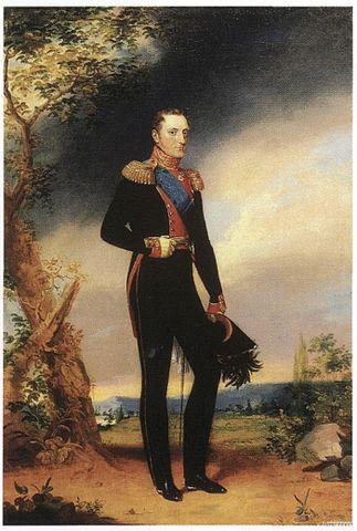 Портрет Николая I. Джордж Доу