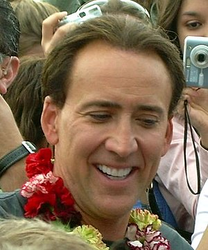 Nicolas Cage in Washington, D.C.