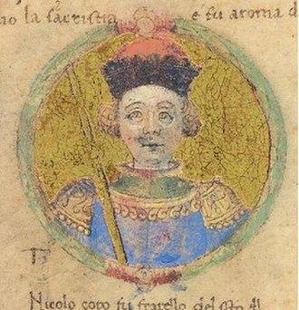 Niccolò II d'Este, Marquis of Ferrara - Image: Nicolo II d'Este 2